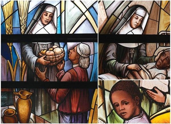 """""""Why does the Roman Catholic Church make saints? It doesn't really – saints make saints."""" — Lou Baldwin"""