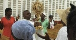 use haiti and Eucharist