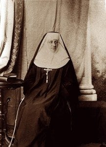 On Feb. 12, 1891, in pronouncing her vows, St. Katharine became the first Sister of the Blessed Sacrament in the chapel of the Sisters of Mercy in Pittsburg. Ten novices and three postulants joined her.