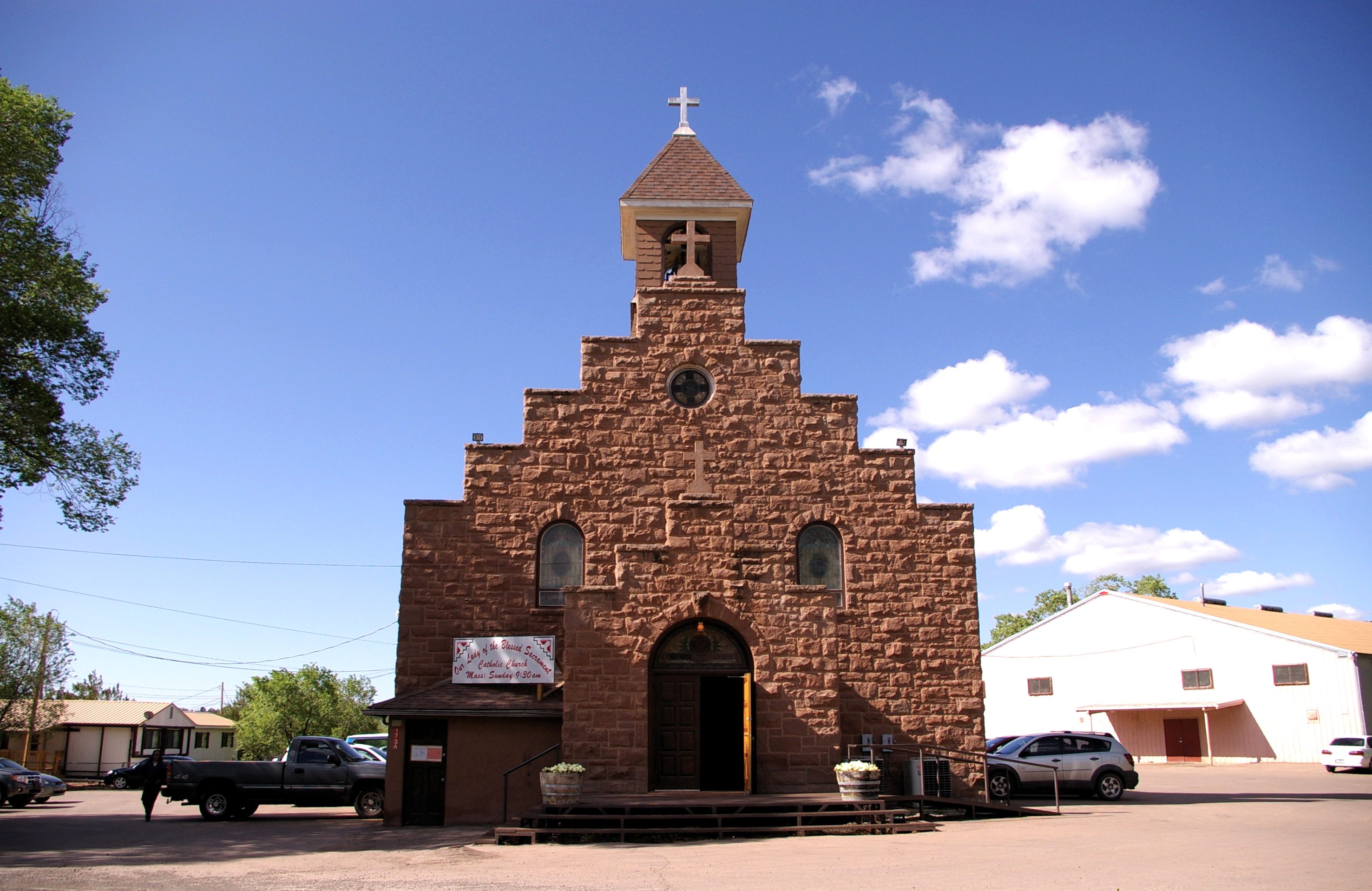 Our Lady of the Blessed Sacrament, Fort Defiance