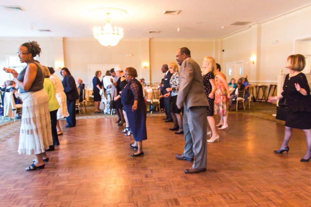 There is always plenty of fun and dancing at the annual GALA event.